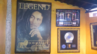 Inside the Bob Marley House