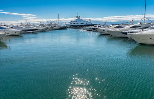 Super-Yachts Near Marbella_