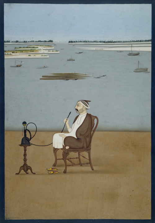 Ashraf 'Ali Khan. Attributed to Dip Chand, Patna, 1764. British Library, Add.Or.736