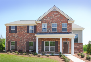 The Albany Floorplan from Acadia Homes Neighborhoods Capitol Collection