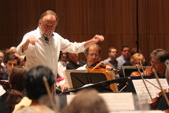 George Manahan Conducting