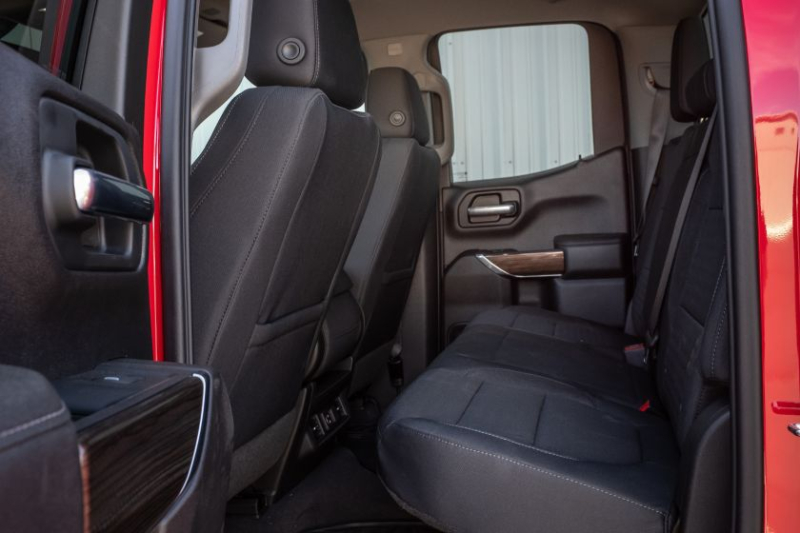 2020 Chevrolet Silverado 1500 Diesel Rear Seat Interior