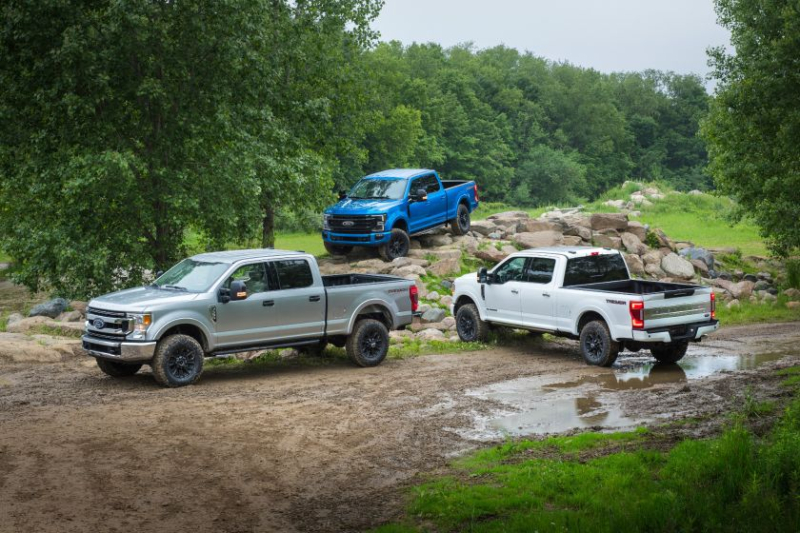 2020 Ford Super Duty: 3 Trucks With Tremor Off-Road Package