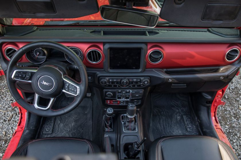 2020 Jeep Gladiator Rubicon Cockpit