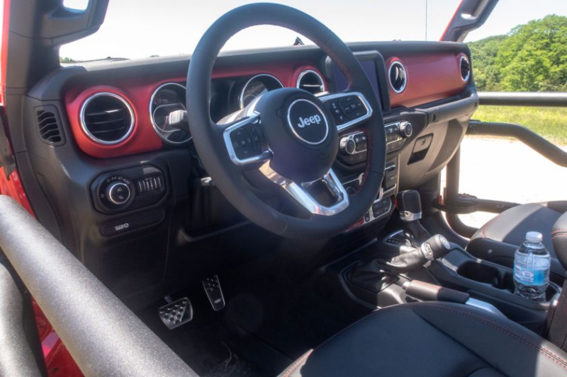 2020 Jeep Gladiator Rubicon Interior