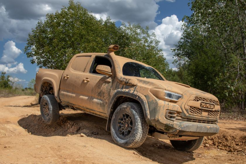 2020 Toyota Tacoma TRD Pro Covered In Mud