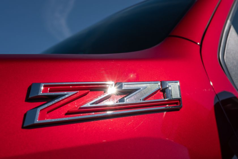 2020 Chevrolet Silverado 2500 Z71 Badge