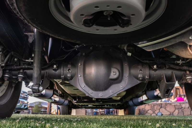2020 Chevrolet Silverado 3500 Undercarriage Closeup