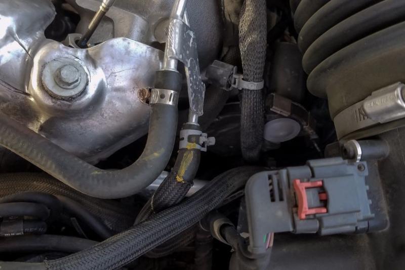 2017 GMC Sierra 3500 Coolant Hose Fix