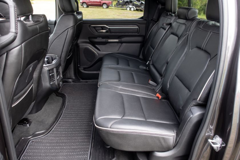 2020 Ram 1500 EcoDiesel Rear Seat