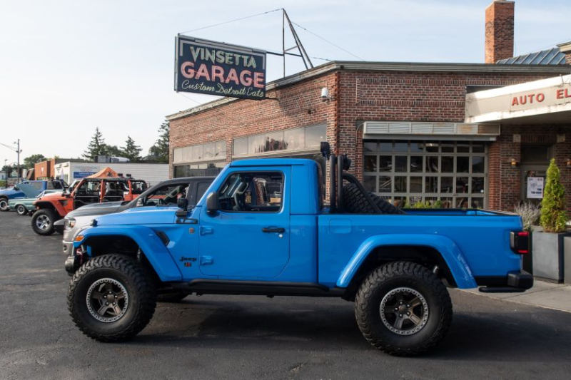 Easter Jeep Safari Concepts Parked at 2019 Woodward Dream Cruise