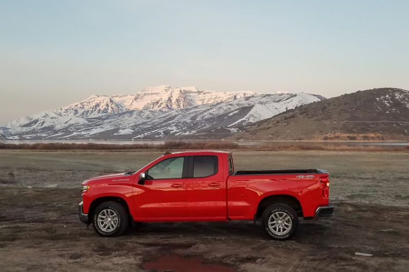 2019 Chevrolet Silverado 1500 2.7-Liter in Mountains