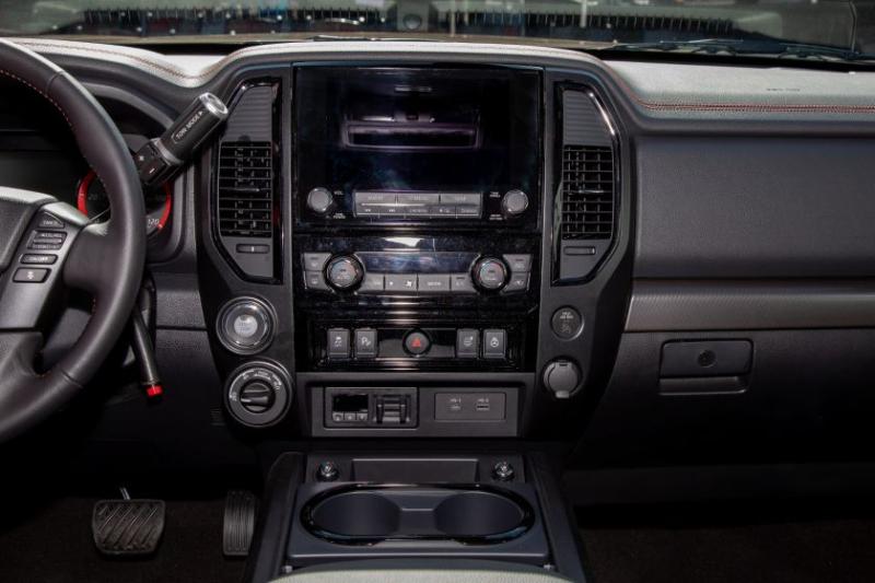2020 Nissan Titan Pro-4X Center Control Panel