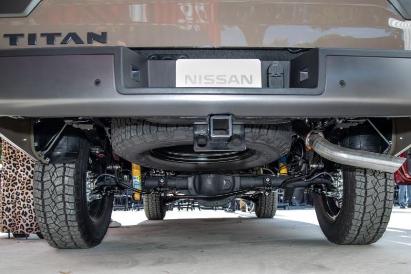 2020 Nissan Titan Pro-4X Undercarriage