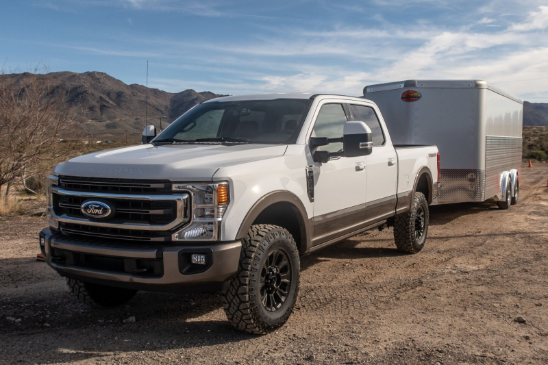 how does ford u0026 39 s 2020 super duty tremor compare to ram power wagon  gmc sierra at4