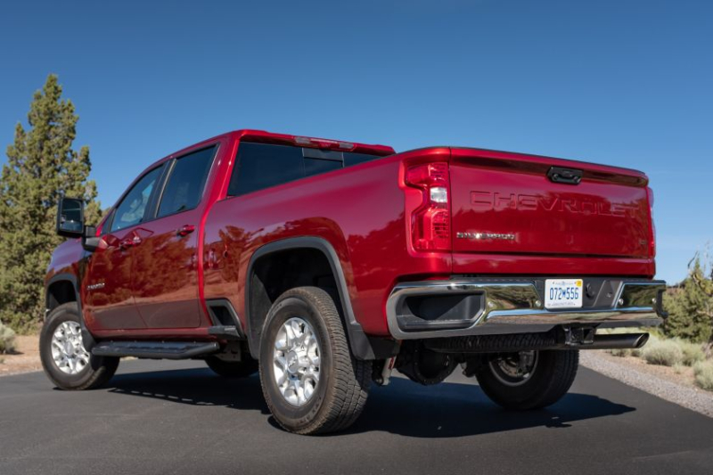 2020 Chevrolet Silverado 2500 Rear End
