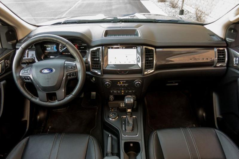 2019 Ford Ranger Lariat Cockpit