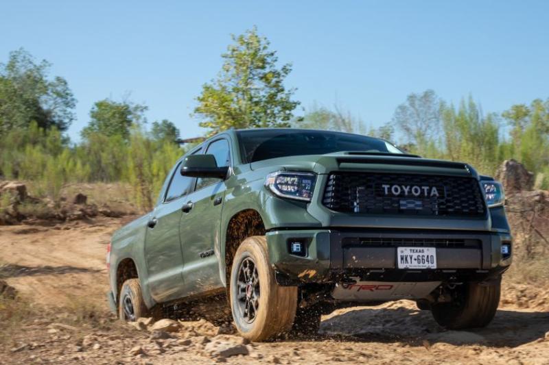 2020 Toyota Tundra TRD Pro Rock Climbing