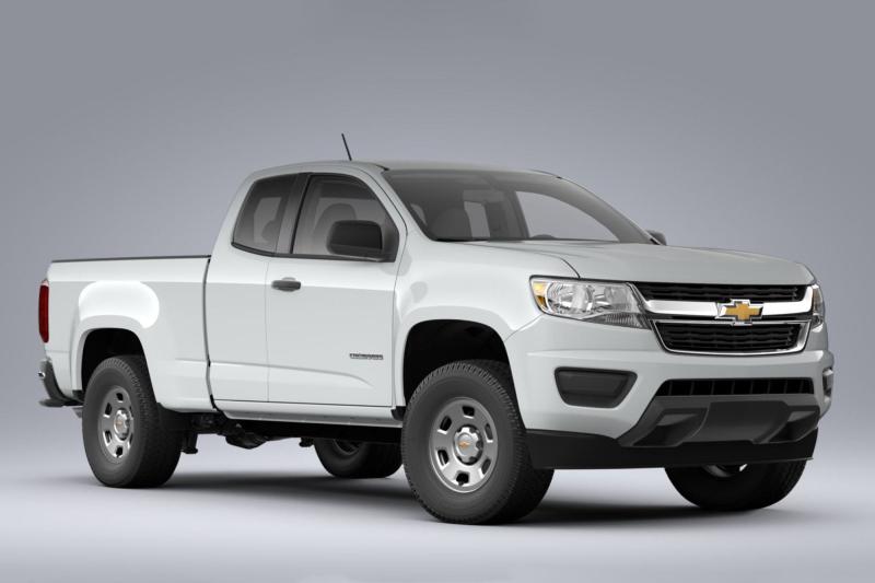 2020 Chevrolet Colorado Side Profile