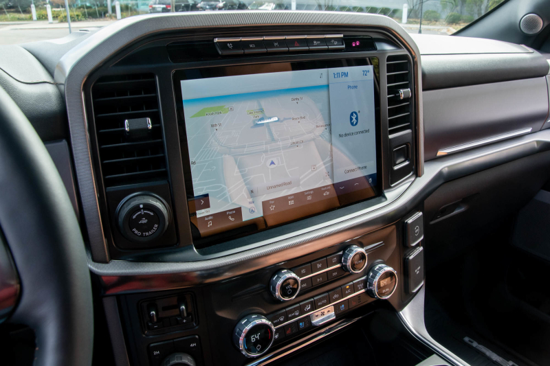 2021 Ford F-150 touchscreen