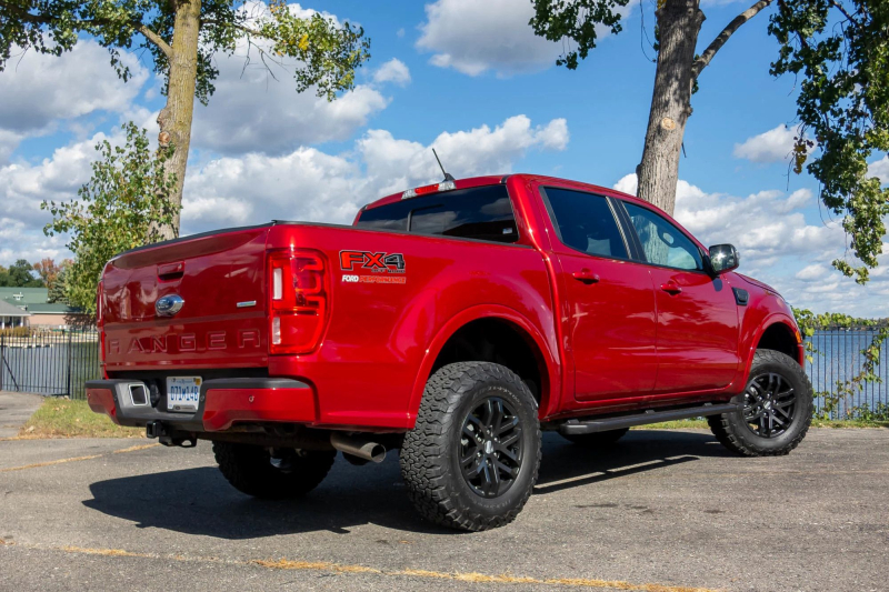 2020 Ford Ranger Performance Pack Level 2 Rear Side Profile