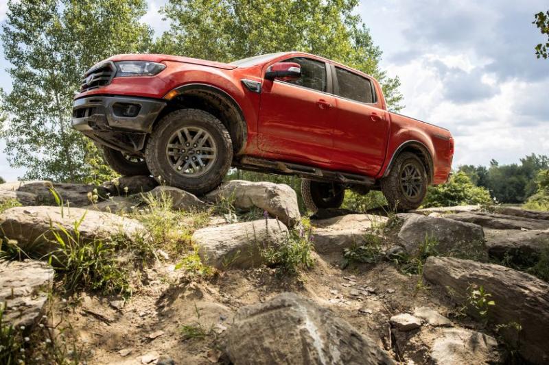 2021 Ford Ranger Tremor Lariat