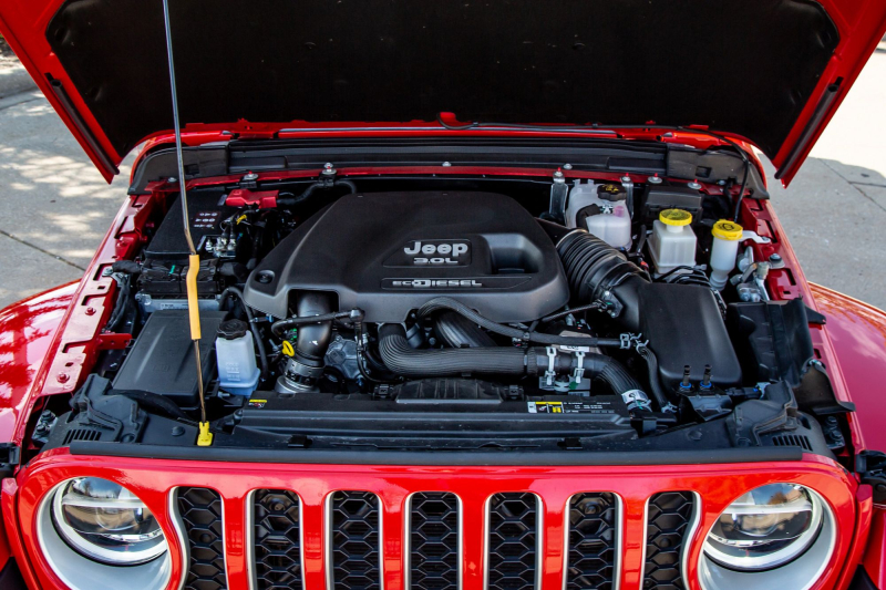 2021 Jeep Gladiator Overland EcoDiesel Engine