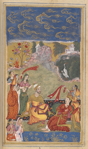 Pem Nem A 16th Century Urdu Romance Goes On Line Asian And