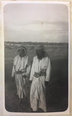 Shaikh Obaid bin Juma', Beni Ka'ab
