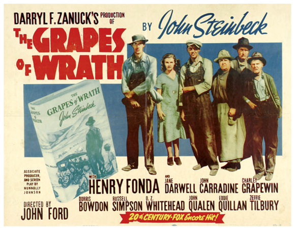 Poster - Grapes of Wrath, The_01