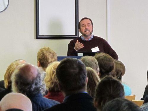 Dave Rafaelli presenting at LWEC 2013