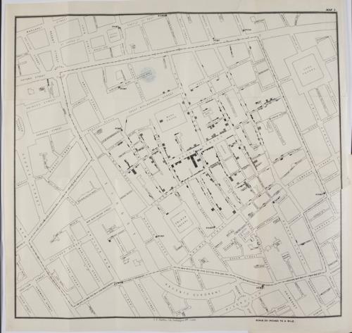 On the Mode of Communication of Cholera, John Snow. London, 1855