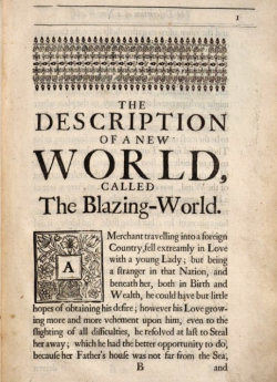 Science Fiction by Margaret Cavendish
