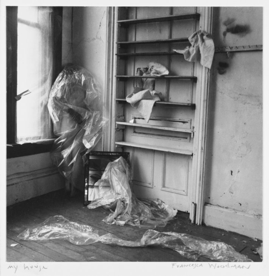 My house. Francesca Woodman, 1976