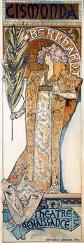 Gismonda, de Alfons  Mucha