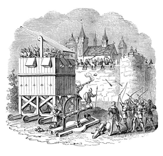 Asedio medieval