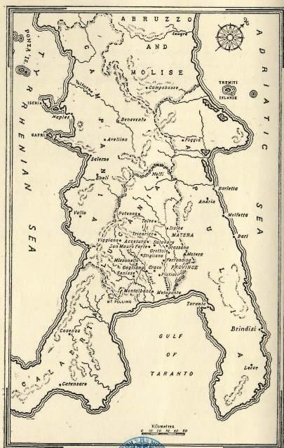 Carlo levi Map