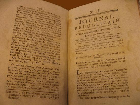 Opening of issue 58 of the 'Journal républicain de la Commune sans nom'