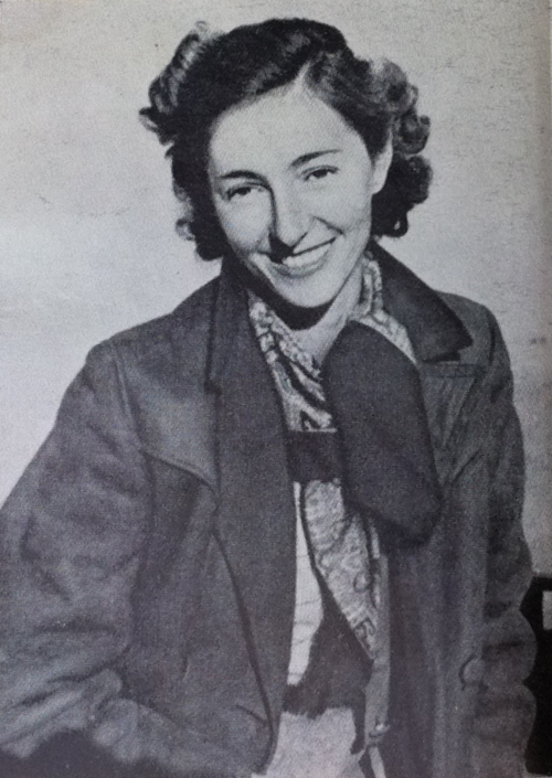 Female spies Krystyna Skarbek, aka Christine Granville, courtesy of Christine Isabelle Cole, Bill Stanley Moss papers