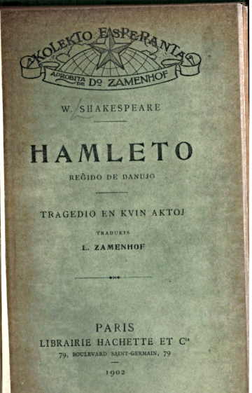 Cover of 'Hamleto'