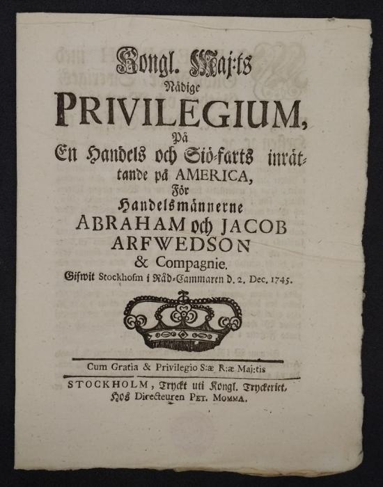 Privilege Arfwedson
