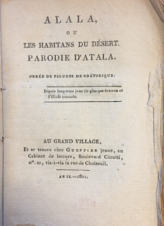Chateaubriand Alala