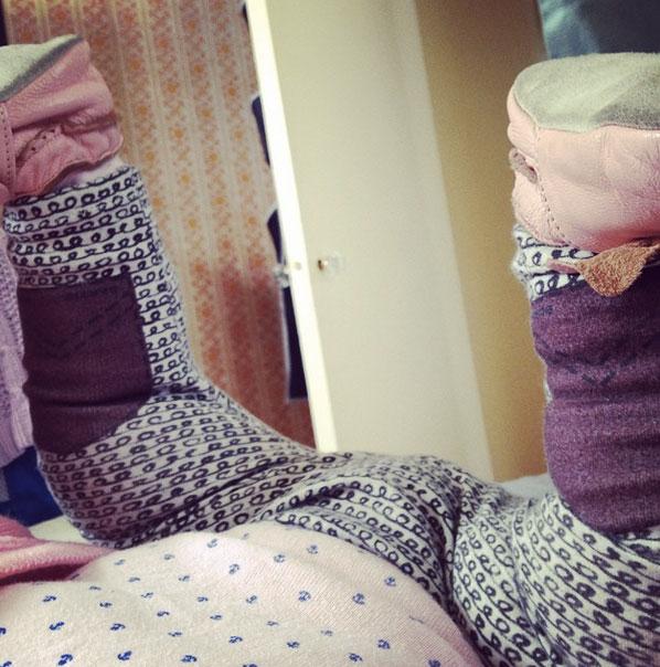 Baby leggings by BertieBums