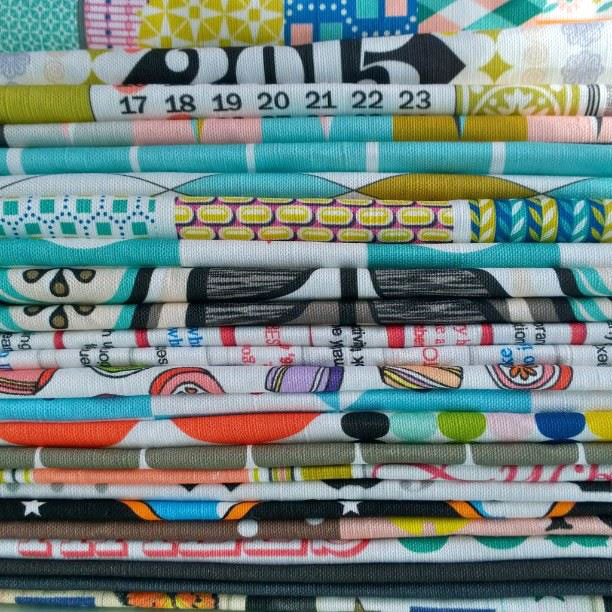 Penny Candy Handmade's stack of tea towels