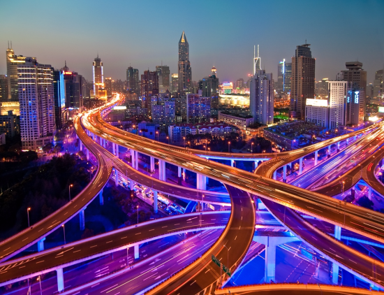 Shanghai freeway (c) Whiz-ka
