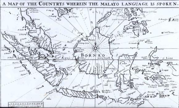 68.c.12, Bowrey map, 1701