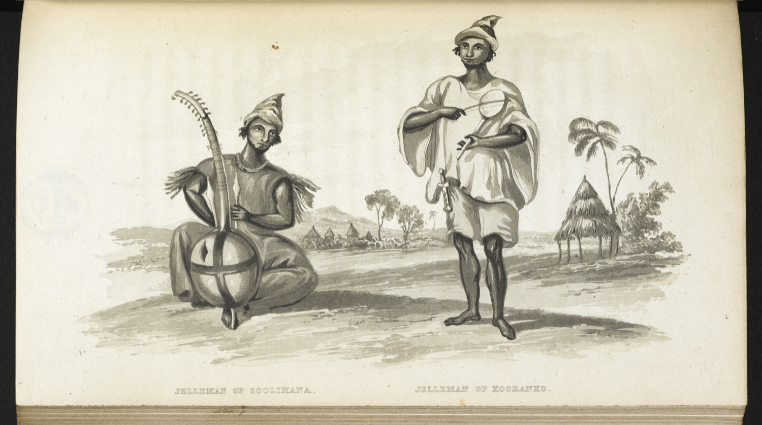 the griots of west africa
