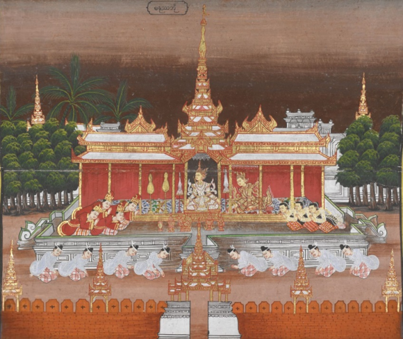 Manussa bhuṃ. British Library, Or. 14004, f.36.