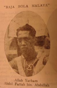 A gallery of early Malay football stars, featured in Chendera Mata Piala Mas 1947. British Library, 14654.m.29