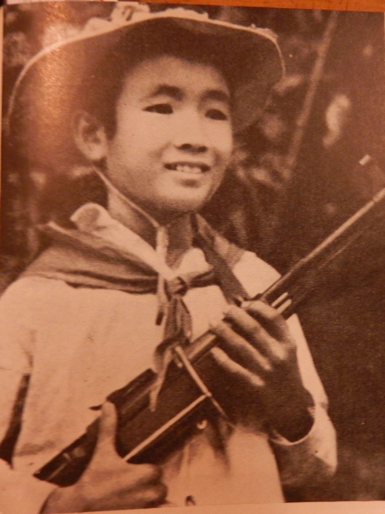Nguyễn Công Phi, 'Tiny guerrilla in the Nguyễn Văn Trỗi Youth Group in Quảng Nam province'. Việt Nam, no.141, 6, 1969 p. 29. British Library, SU216